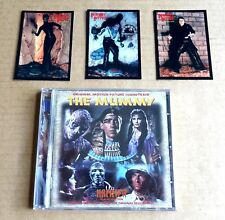 """""""THE MUMMY'"""" HAMMER MOVIE  CD SOUNDTRACK + 3 FREE PROMO TRADING CARDS"""