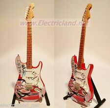 Mini Guitar Gilmour PINK FLOYD THE WALL chitarra tribute handmade reproduction