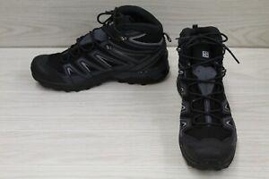 Salomon X Ultra 3 Mid GTX 398674 Hiking Boot - Men's Size 12, Black/Blue