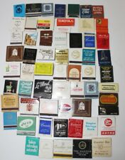 More details for vintage usa  advertising matchbooks fair condition  lot of 61 -pl-3743