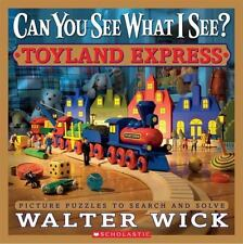 Can You See What I See? Toyland Express by Walter Wick c2011 VGC Hardcover