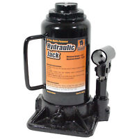 Black Bull HBJ12 12 Ton Hydraulic Bottle Jack - Lift Range 8.5 Inch to 13.75 ...