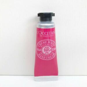 L'Occitane Delightful Rose Hand Cream, 10ml, Travel Size, Brand New!