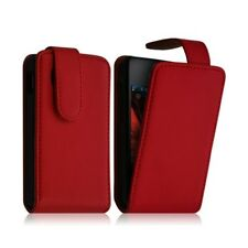 Cover case pouch for samsung star 3 duos s5222 red color