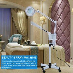 3 in 1 Facial Steamer & 5X Magnifying Lamp Hot Ozone Machine Spa Salon Equipment