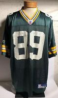 Green Bay Packers NFL Football Jersey Robert Ferguson Men's Size XL Reebok #89