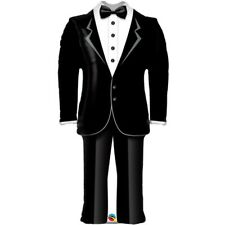 "Grooms Tuxedo 39"" Qualatex Foil Supershape Balloon"