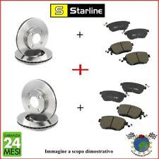 Kit Dischi e Pastiglie freno Ant+Post Starline OPEL MERIVA COMBO