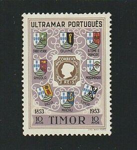 EDSROOM-7851 Timor 278 H 1953 Complete Stamp Centenary