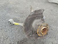 BMW 5 SERIES E60 E61 525D M57 '05 PASSENGER N/S FRONT LEFT HUB AND ARMS