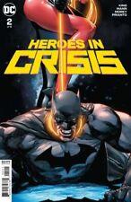 HEROES IN CRISIS #2 NEAR MINT 2018 UNREAD DC COMICS BIN-2019-1565