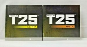 Beachbody Focus T25 Alpha & Beta, Get It Done, Replacement Discs DVDs You Pick