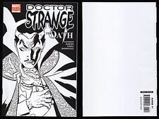 Doctor Strange The Oath (2006) #1 Nm! Limited Edition Variant Sketch Ink Cover