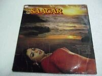 SAAGAR R.D.BURMAN 1984  RARE LP RECORD OST orig BOLLYWOOD HINDI india VINYL G+