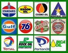 OIL LOGOS  #2 OF 2 SETS  PHOTO-FRIDG MAGNETS
