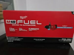 """Milwaukee 2868-22HD M18 FUEL 1"""" D-Handle ONE-KEY High Torque Impact Wrench"""