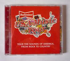 BUDWEISER USA MUSIC TOUR 1995 PROMO CD COMPILATION ALBUM - GOOD CONDITION