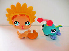 Littlest Pet Shop LPS 1320 Persian Kitten 1319 Iguana Lot of 2