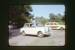 35mm SLIDES : PERIOD SHOTS OF GREAT BRITISH CARS & PEOPLE FROM 1950's - 1980's