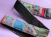 SLR DSLR Camera Neck Shoulder Strap Belt Vintage for Canon Nikon Pentax Sony UK