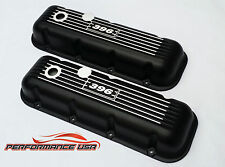 Big Block Chevy Classic 396 Black Valve Covers