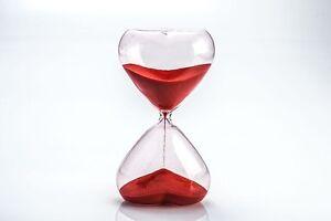 Sanduhr 30 Minuten 15 -3 Minuten Eieruhr blau grün pink rot Pajoma schwarze Neu,