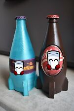 Fallout Wasteland Cola and Quantum Bottles Nuka Cosplay Props 2-pack