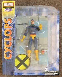 Cyclops Marvel Select Action Figure New Diamond X-Men