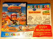 MANNY TUTTOFARE - L'AVVENTURA IN MOTOCICLETTA -  DVD+ MULTICOLOR SPECIAL-  NUOVO