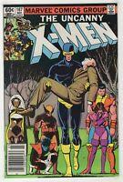 Uncanny X-Men #167 (1983, Marvel) New Mutants, Starjammers [Newsstand] Smith cXv