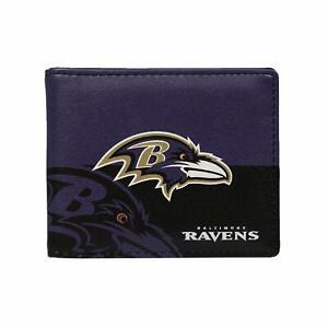 Baltimore Ravens NFL Bi-Fold Little Earth Wallet