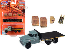 1957 CHEVROLET TRUCK CONSTRUCTION ACCESSORIES 1/87 HO CLASSIC METAL WORKS 40007