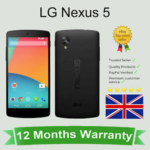 Unlocked LG Nexus 5 D821 Google Android Smart Cellular Mobile Phone  16GB Black