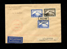 Zeppelin Sieger 30Bb 1929 Bordpost round the world flight. F'haven to L.A.
