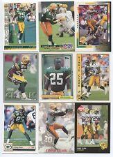 Vinnie Clark 9 card lot Ohio St. Buckeyes/Green Bay Packers