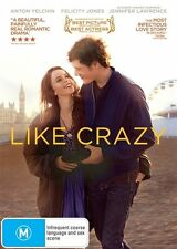 Like Crazy DVD R4 NEW