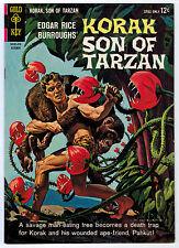 KORAK SON OF TARZAN #5 8.5 WHITE PAGES SILVER AGE