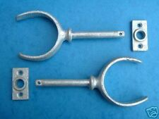 "BRAND NEW PAIR OF 7/16"" GALVANISED ROWLOCKS Chandlery"