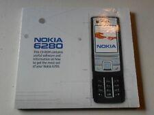 Nokia 6280 Cd-ROM Mobile Phone Instruction Manual