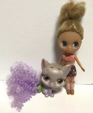 LPS mini Doll - Littlest Pet Shop Mini Blythe, And Pet Cat Disney