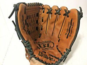 "Wilson 13 1/2"" A2478 XXL Oversize Flex Back Softball Glove Right Handed Thrower"