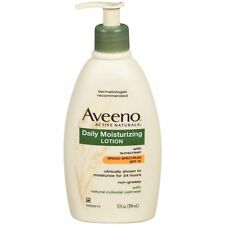 Aveeno Active Naturals Daily Moisturizing Lotion with SPF 15, 12 Ounce Pack of 5