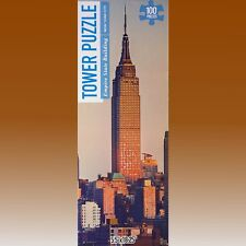 Tower Puzzle 'The Empire State Building, New York' 100 Piece Jigsaw Puzzle NEW