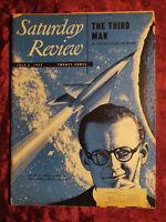 Saturday Review July 5 1952 ARTHUR C. CLARKE EDGAR ANSEL MOWRER CARL M. WHITE