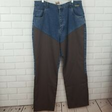 Gamehide Men's Size 40 x 30 Hunting Waterproof Brushguard Cotton Denim Jeans