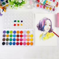 36 Watercolour Paint Set With Brush In Case Painting Water Colour Art Artist Kit