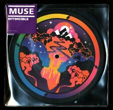 "VINYLE 45 TOURS ★ MUSE - INVINCIBLE / GLORIOUS ★ 7"" PICTURE DISC RECORDS LIMITED"