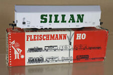 FLEISCHMANN 1477 DB SILLAN GüTTERWAGEN HIGH CAPACITY WAGON 842-8 MINT BOXED ni