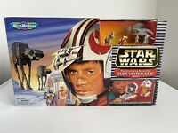 STAR WARS Micro Machines LUKE SKYWALKER HOTH Transforming Action Set Galoob NIB