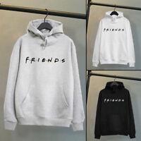 Women's FRIENDS Printed Hoodie Sweatshirt Lady Pullover Sweater Jumper UK lskn